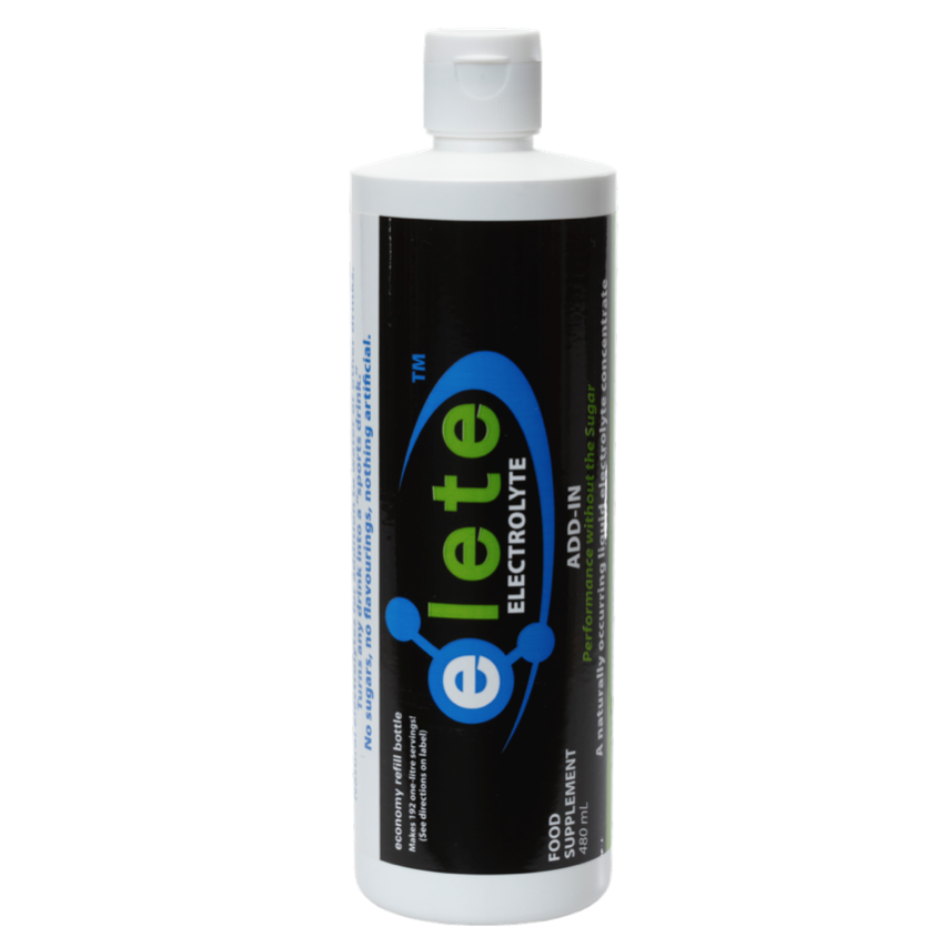 elete Electrolytes 480ml Team Bottle makes 192 Litres