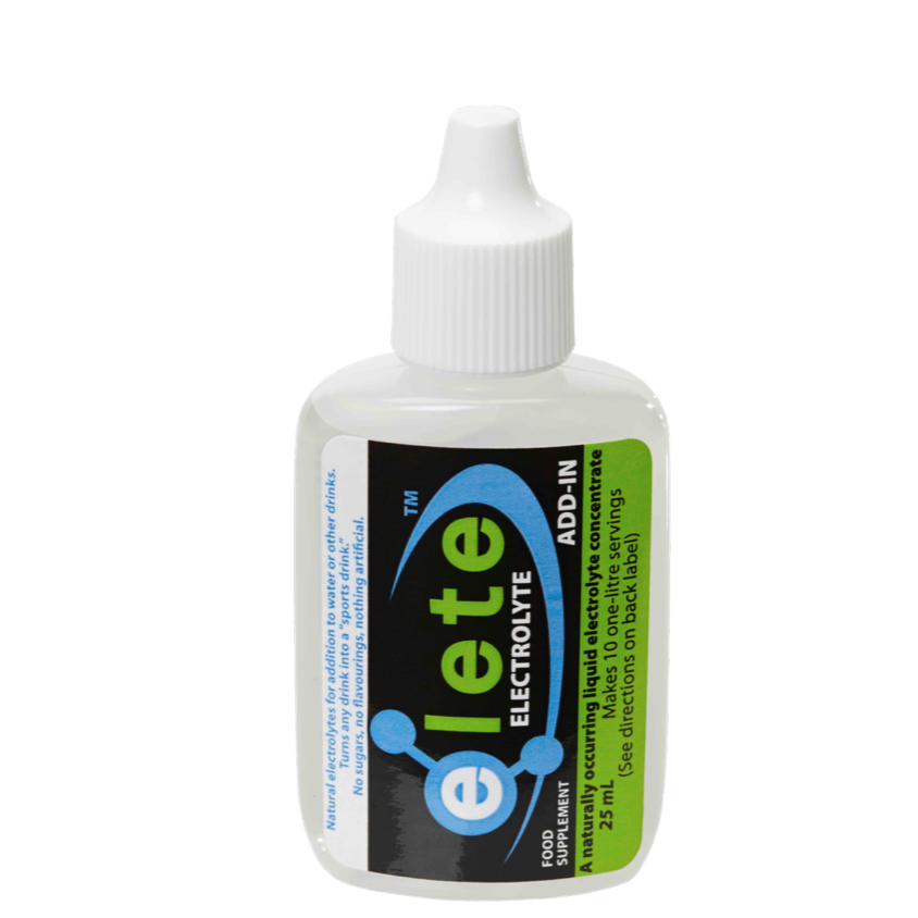 elete Electrolytes 25ml Pocket Bottle makes 10 Litres